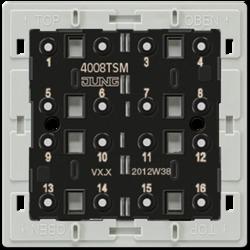 JUNG KNX Кнопочный сенсорный модуль арт. 4008TSM