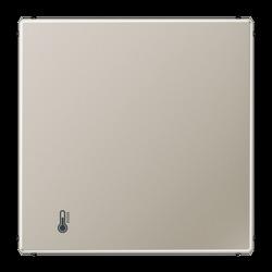 JUNG KNX LS 990 EdelstahlКомнатный термостат с внешним датчиком температуры без управления арт. ES2178ORTS