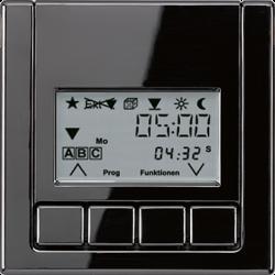 JUNG LS 990 ЧерныйНакладка жалюзийного выкл. УНИВЕРСАЛ с таймером(мех.220ME,230ME,232ME) арт. LS5232T3SW