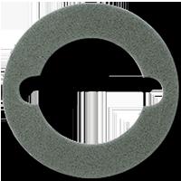 JUNG Мех Уплотнитель для крышки …537… для получения IP44 арт. 37D