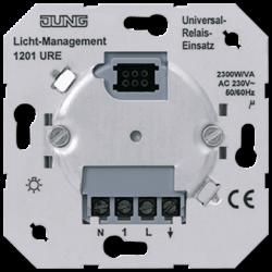 JUNG Мех Выключатель электронныхный 1-канальный (необходима нейтраль) арт. 1201URE