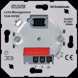 JUNG Мех Выключатель электронныхный 40-400 Вт/ВА для л/н и обмоточных трансформаторов арт. 1244NVSE