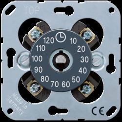 JUNG Таймер механический 1-полюсный макс. 120 мин., 16АХ, 250В АС арт. 11120-20