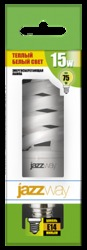 Jazzway Лампа энергосберегающая PESL- SF2 15w/ 827 E14 46х105 T2 арт. .1007209