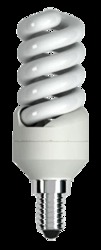 Jazzway Лампа энергосберегающая PESL- SF2s 11/ 827 E14  34х105 T2 арт. .1007445