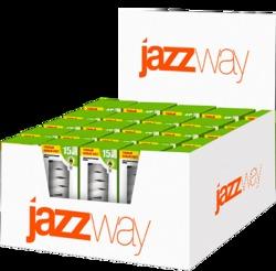 Jazzway Лампа энергосберегающая PROMO DISPLAY BOX PESL- SF 15w/827 E27 48х120 T3 арт. .1034830DB