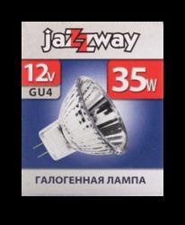 Jazzway Лампа галогенная PH-MR11C 35Вт 12В 36° GU4  2000ч арт. .3322410