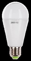 Jazzway Лампа светодиодная (LED) «груша» d60мм E27 180° 15Вт 220-230В матовая тепло-белая желтая 3000К арт. .2853028