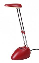 Jazzway Лампа светодиодная настольная PTL-1316 3w 3000K красная арт. .1026446