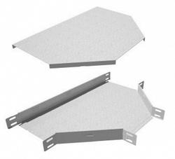 Крышка на тройник для кабельного лотка КМ-Профиль арт. KTD50