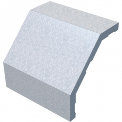 Крышка на угол (поворот) КМ-Профиль арт. KVL90*50