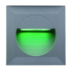 LL LED BILEO B 0,8W Светильник для декор. подсветки, встраив. в стену, сер, 14xLED, IP65 3000К арт. 329128