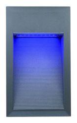 LL LED BILEO D 1W Светильник для декор. подсветки, встраив. в стену, сереб, 18xLED, IP65 4000К арт. 329302