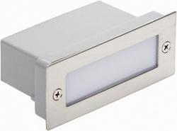 LL LED DECOSQUARE Светильник встраиваемый, серебро, 2w, 12xLED, IP65 арт. 450723