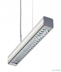LL LED INTEGRA 49W Светильник подвесной Т5\G5, серебро , IP40 арт. 526138