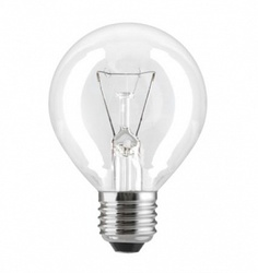 Лампа накаливания «шар» d45мм E27 40Вт 220-230В прозрачная General Electric арт. 90565