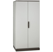 Legrand Altis Шкаф сборный металлический IP 55 IK 10 RAL 7035 2200x1200x800 мм 2 двери арт. 047287
