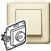 Legrand Cariva Крем Светорегулятор поворотный 300W для л/н (вкл поворотом) арт. 773717