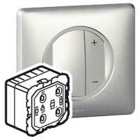 Legrand Celiane Мех светорегулятора нажимного 40-600 Вт для л/н и обм тр-ров 2 мод арт. 067082