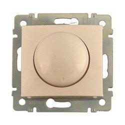 Legrand DIY Valena Бел Светорегулятор поворотный 40-400W для ламп накаливания (вкл поворотом) арт. 694288