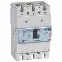 Legrand DPX3 250 Автоматический выключатель 3P 160А 25kA арт. 420207