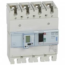 Legrand DPX3 Автоматический выключатель с электронным расцепителем 4P 250A 70kA арт. 420709