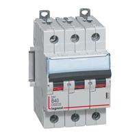 Legrand DX3 Автоматический выключатель 3P 50A (C) 36кА арт. 410026