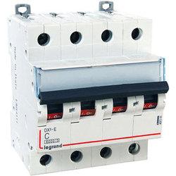 Legrand DX3-E Автоматический выключатель 4P 2А (С) 6000/6kA арт. 407299