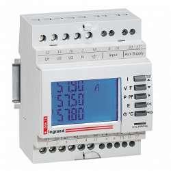 Legrand EMDX3 Однофазный счётчик 63А 2 мод выход RS 485 арт. 004677
