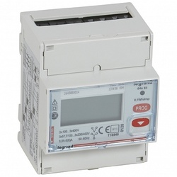 Legrand EMDX3 Трёхфазный счётчик сертификат MID 5А 4 мод выход RS 485 и импульсный арт. 004686