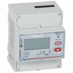 Legrand EMDX3 Трёхфазный счётчик сертификат MID 63А 4 мод выход RS 485 и импульсный арт. 004683