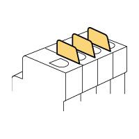 Legrand Кнопка-выключатель на DIN-рейку 1Н.О.контакт арт. 004453