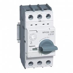 Legrand MPX3 Автоматический выключатель для защиты электродвигателей T32H 0,4A 100kA арт. 417322