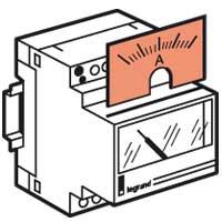 Legrand Переключатель на DIN-рейку 4-позиционный д/амперметра (3мод.) арт. 004650