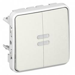 Legrand Plexo Белый Выключатель сумеречный арт. 069617