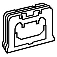 Legrand Valena Крем Резиновый сальник для вертикального соединения нескольких подъёмных рамок арт. 776135
