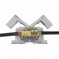 Legrand Viking 3 Силовая клемма два вывода под наконечник шаг 36 мм арт. 039013