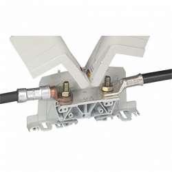 Legrand Viking 3 Силовая клемма два вывода под наконечник шаг 55 мм арт. 039015