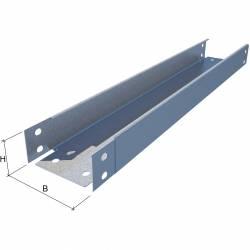 Лоток кабельный листовой КМ-Профиль арт. LN50*50*0.55