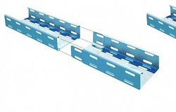 Лоток кабельный листовой КМ-Профиль арт. LP80*300*0.8
