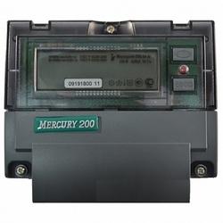 Меркурий Электросчетчик 200.04 на DIN-рейку 5-50А/220В 1Ф 4т. с модемом ЖКИ арт. Меркурий 200.04
