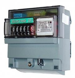 Меркурий Электросчетчик 201.5 на DIN-рейку 5-60А/220В 1Ф 1т. Механика арт. Меркурий 201.5