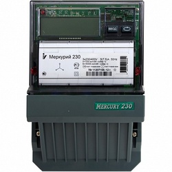 Меркурий Электросчетчик 230 АRТ-03 3Ф 4т.внутр.тариф. 5-7,5А ЖКИ интерфейс CAN арт. Меркурий 230 ART-03 СN