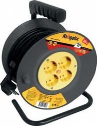 Navigator 71 508 NPE-R-04-30-E-3x0.75 катушка 4 гн. с/з 30м арт. 71508