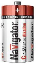 Navigator Элемент питания alkaline C 1.5B NBT-NE-LR14-BP2 арт. 94754
