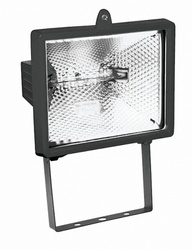 Navigator Прожектор галогенный 150W R7s IP54 чёрный арт. 94601