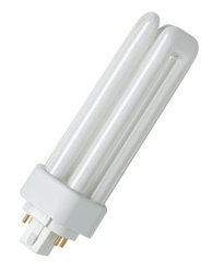 Osram Лампа люминесцентная компактная Dulux T/E 26W/840 PLUS холод. белый GX24q-3 арт. 4050300342283