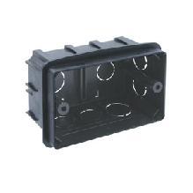 PE Коробка монтажная под ANAM 1-ая для сплошных стен, с крепежом, 100х60х50мм IP20 арт. PE 000 031