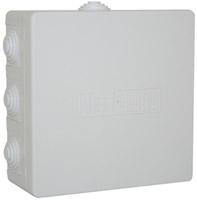 PE Коробка распределительная 120х120х50 IP 54 9 конических сальников арт. РЕ 120 015