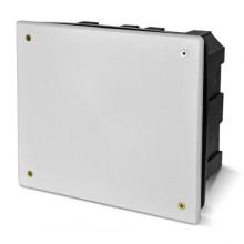 PE Коробка распределительная для сплошных стен 160х140х70 IP20 бел крышка арт. PE 000 035R